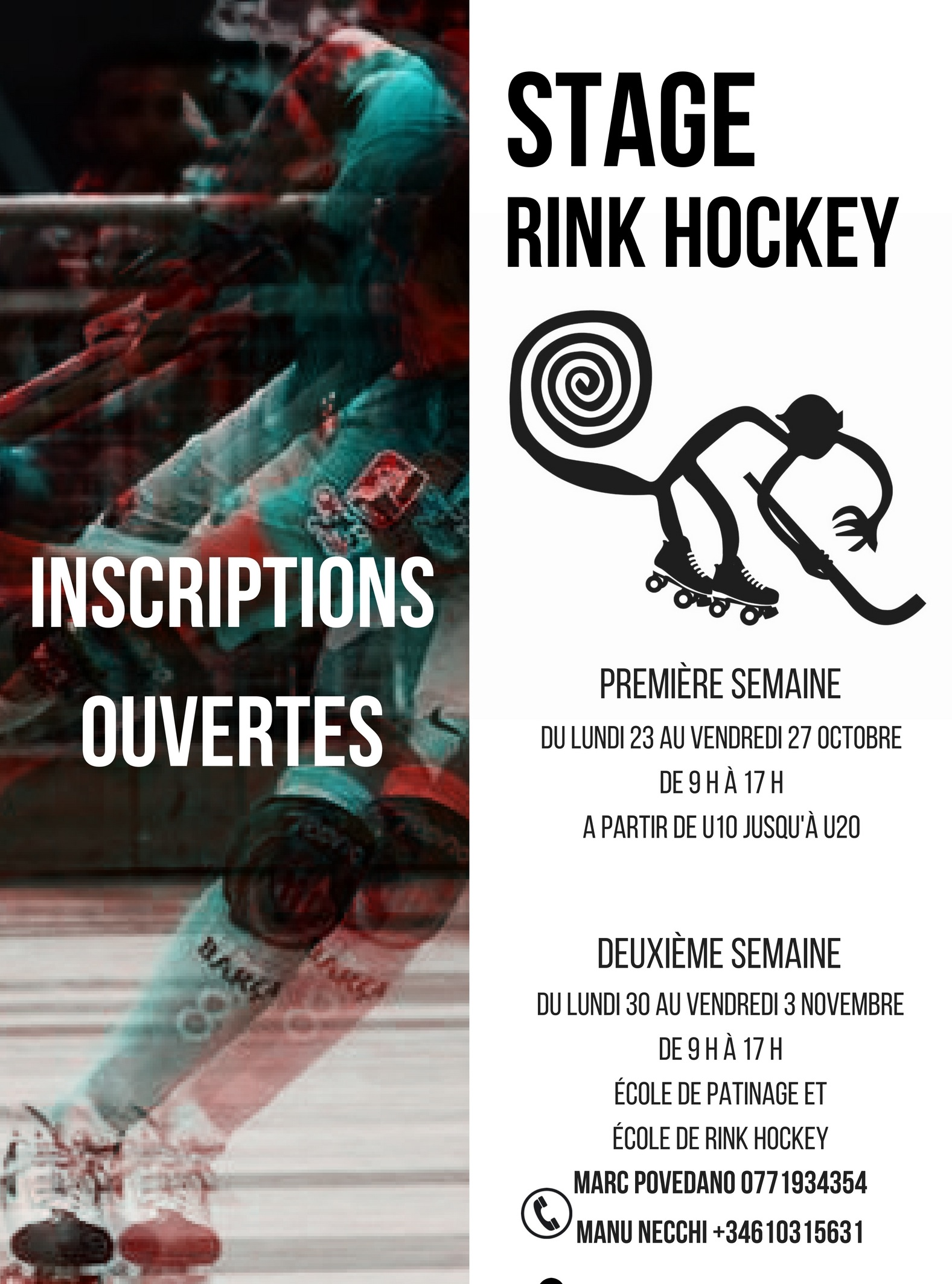 STAGE RINK HOCKEY