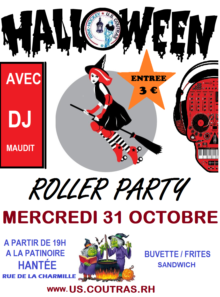 affiche roller party (1)