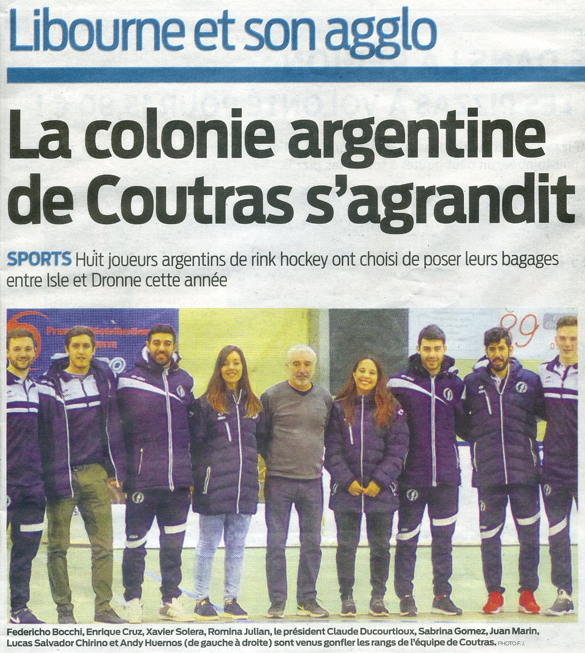 Actualités Rink Hockey Coutras 342a8a6b4019
